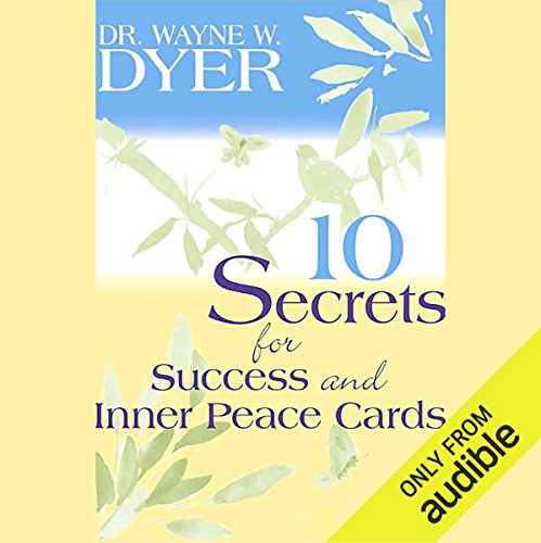 10 Secrets for Success and Inner Peace audiobook cover art