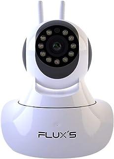 comprar comparacion Camara IP WiFi de Interior FLUX'S, Cámara de vigilancia WiFi FHD 1080p, con Vision Nocturna, Detección de Movimiento, Audi...
