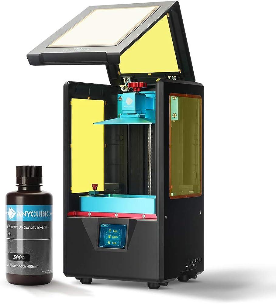 Anycubic, stampante 3d photon s lcd, per fotopolimerizzante uv doppio asse z smart touch colori PSA1BK-Y-O-BTIT