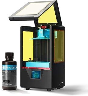 ANYCUBIC Stampante 3D Photon S LCD per Fotopolimerizzante UV doppio asse Z Smart Touch Colori Screen Printer Offline Stampa 3D Dimensioni 115x65x165mm, Nero