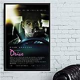 PHhomedecor Leinwanddrucke Poster,Ryan Gosling Drive Film,