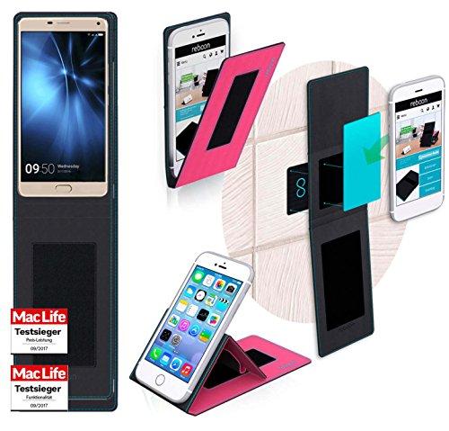 reboon Hülle für Allview P8 Pro Tasche Cover Case Bumper | Pink | Testsieger