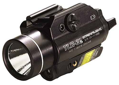 Streamlight 69230 TLR-2s Rail Mounted Strobing Tactical Light with Laser Sight and Rail...