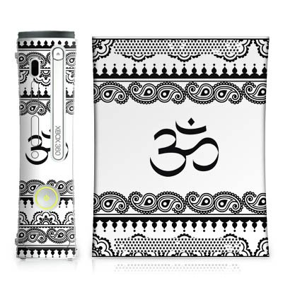 DeinDesign Skin kompatibel mit Microsoft Xbox 360 Folie Sticker Mandala Henna Yoga