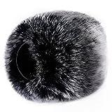 Paravientos exterior de pelo para micrófonos Neewer, para Zoom H4N, H5, H6, Sony PCM-D50, Tascam DR-100 MKII y grabadoras digitales portátiles similares