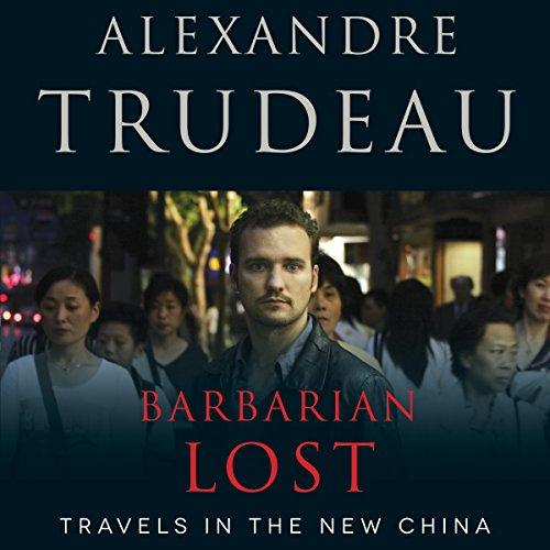 Barbarian Lost audiobook cover art