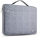 Hseok Maletin Portatil 13-13,5 Pulgadas Funda Protectora Delgada Impermeable para Todos los Modelos de MacBook Air Pro 13,3', XPS 13, Surface Book 13,5' y 13'-13,5' Laptop Computer, Linea de Metal