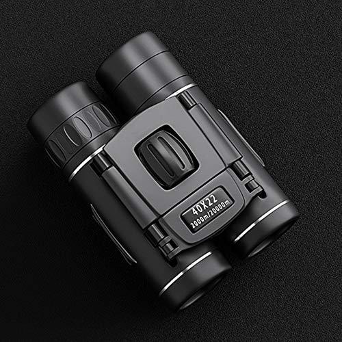 somubi 40 * 22 Mini Binoculares Potentes para Niños Telescopio Gran Angular Binocular Impermeable Compactable Vigilancia a Distancia Viajes Conciertos Teatro Ópera Camping Y Senderismo