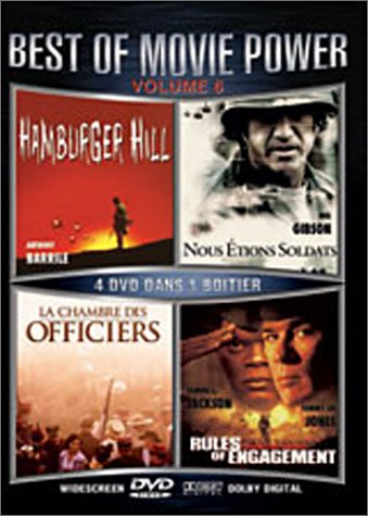 La Chambre des officiers / Hamburger Hill / We Were Soldiers / L'Enfer du devoir - Coffret 4 DVD [Import belge]