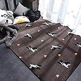 TYDH 44 Moderner Teppich Polyester Teppich und Teppiche für Wohnzimmer Boden Kind Kinder Spielmatte...