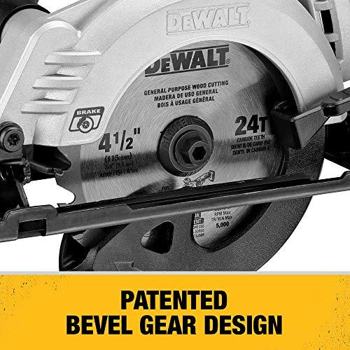 DEWALT ATOMIC 20V MAX Circular Saw, 4-1/2-Inch, Tool Only (DCS571B)