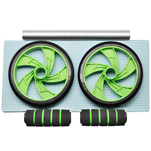 La ruota WOWDSGN Ab, Ruota Addominali Attrezzo per l'Allenamento a Palestra o Casa, Unisex - Adulto, Verde, Taglia Unica