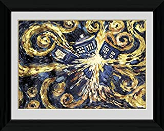 Doctor Who Framed Collector Poster - Exploding Tardis (16 x 12 inches)