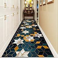 廊下カーペット ランナーラグ にとって 廊下、 洗濯機で洗えます エリアラグ ロングカーペット にとって 家 オフィス リビングルーム ダイニングルーム、 現代的なスタイル (Size : 100×1000cm (3.3×32.8ft))