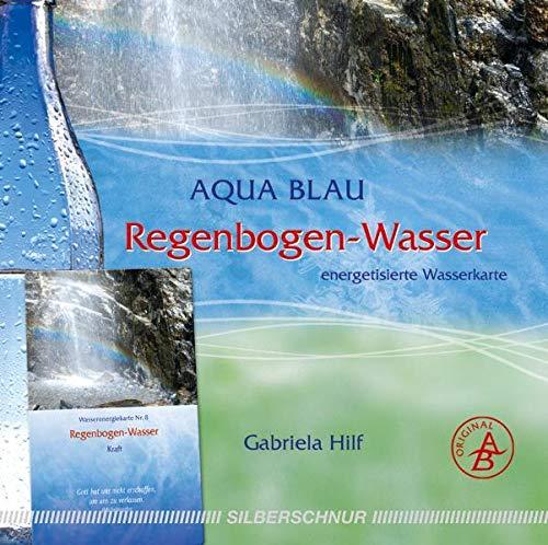 Regenbogen-Wasser: Wasser-Energiekarte, Norwegen, Kraft, regenbogenfarben: Energetisierte Wasserkarte