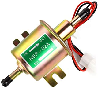 DOYES Electric Fuel Pump Transfer Pump Universal 12V Fuel Pump 4-7 PSI for Carburetor Engine
