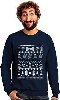 Tstars Doctor Ugly Christmas Sweater Men's Sweatshirt