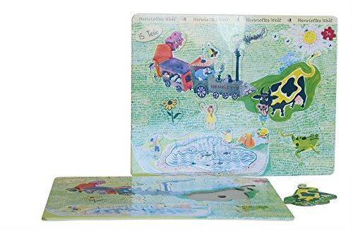 Henriettes Welt Rahmenpuzzle: Henriette Bimmelbahn