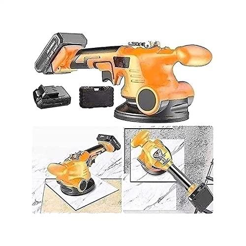 SADWF Herramientas de Colocación de Pisos, Enallador Automático - Máquina de Mosaico - Nivelador Vibratorio Ajustable de Losetas - Adsorción Máxima 200 Kg - Azulejos Y Losetas