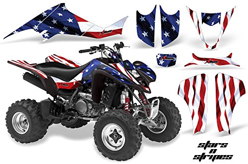 AMR Racing Graphics Kit for ATV Suzuki LTZ 400 2003-2008 STARS AND STRIPES
