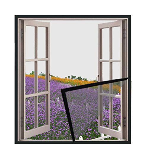 DUCHEN raamkattenbeschermingsgaas voor katten, kattennet, zelfklevend raaminsectengaas, anti-muggen, semi-transparant, geschikt voor montage, 150x180cm, Grijs gaas