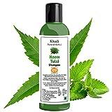 Khadi Natural Herbal Neem,Tulsi and Aloe vera Shampoo-Anti Hairfall and Anti Dandruff Shampoo,200ml