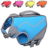 Vivaglory Small Dog Life Jacket, New Sports Style Life Vest for Dogs with...