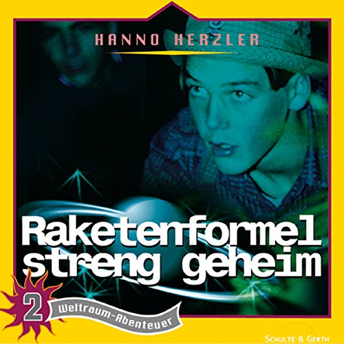 Raketenformel streng geheim audiobook cover art