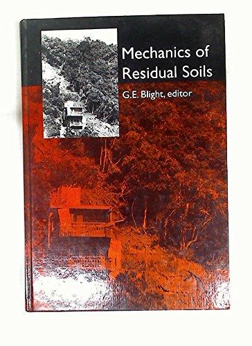 Mechanics of Residual Soils