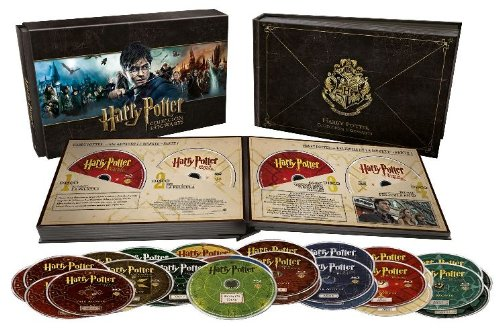 Pack Harry Potter: Colección Hogwarts Blu-ray + DVD