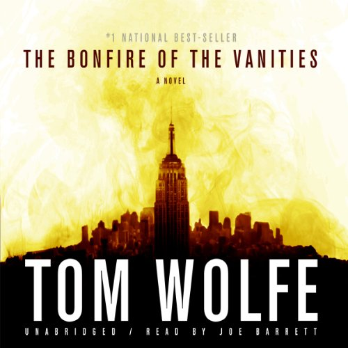 The Bonfire of the Vanities audiobook cover art