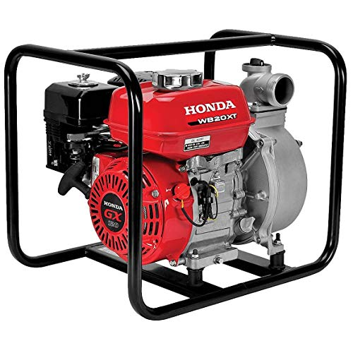 Honda - General Purpose 2-Inch Centrifugal Water Pump with GX12 118cc Series Commercial Grade Engine...