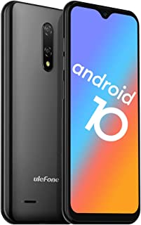 Unlocked Smartphones, Ulefone Note 8 (2020) Android 10, Dual Sim Unlocked Cell Phones, Dual Rear Camera, Triple Card Slot...