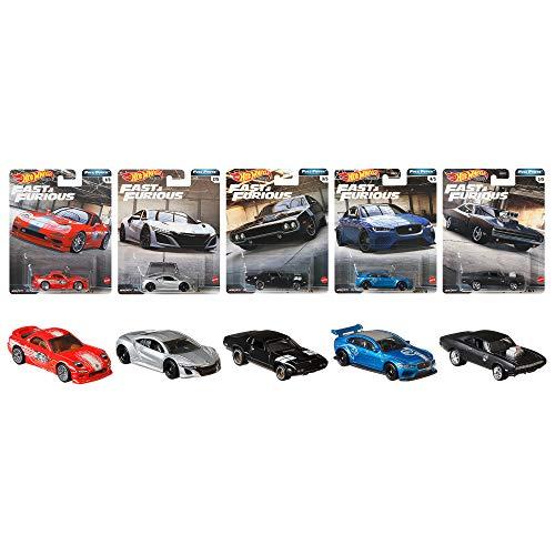 Hot Wheels Fast & Furious Premium Full Force Set 5 Modellautos 1:64 GBW75 - 979H