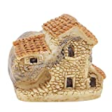 <span class='highlight'><span class='highlight'>Eleusine</span></span> Stone House Fairy Garden Miniature Craft Micro Cottage Landscape Decoration for DIY Resin Crafts (Style 3)