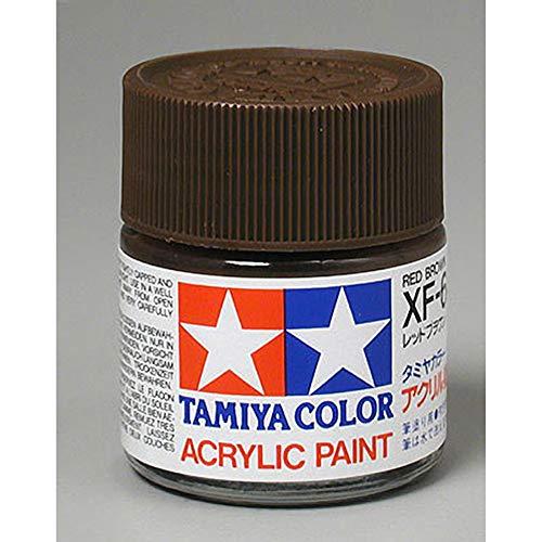 Tinta Acrílica XF-64 (23 ml) Marrom Avermelhado - Tamiya 81364