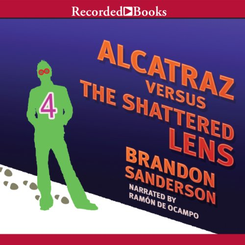 Alcatraz Versus the Shattered Lens audiobook cover art