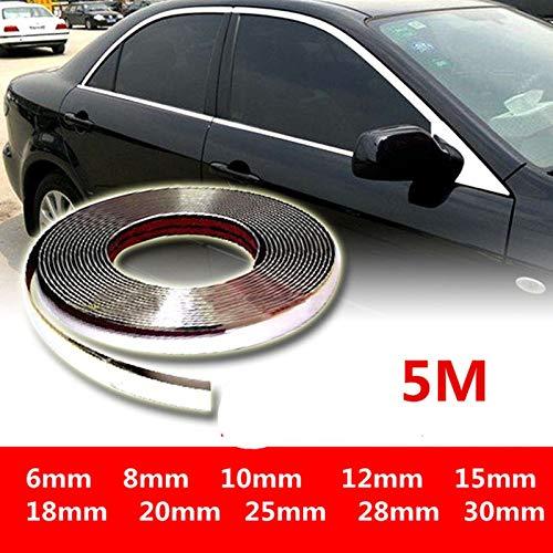 Tira parachoques 5M exterior cromo coche Cuerpo Gaza