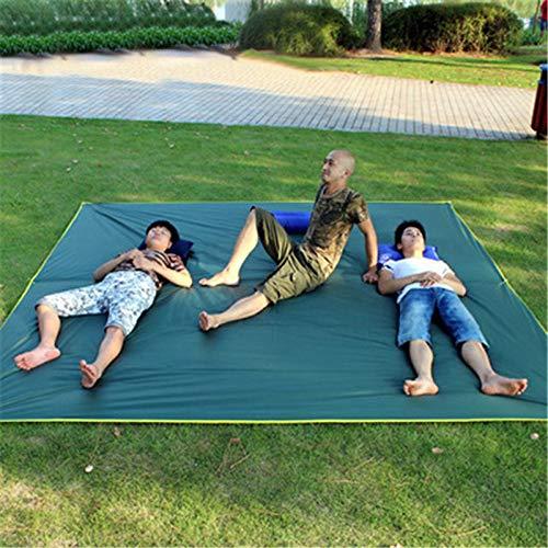 Alfombra de picnic extra grande impermeable manta de picnic 300 x 300 cm, duradera Oxford plegable al aire libre, tapete de picnic desierto, camello