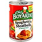 Chef Boyardee Spaghetti & Meatball, 15 oz Can (Pack of 16)