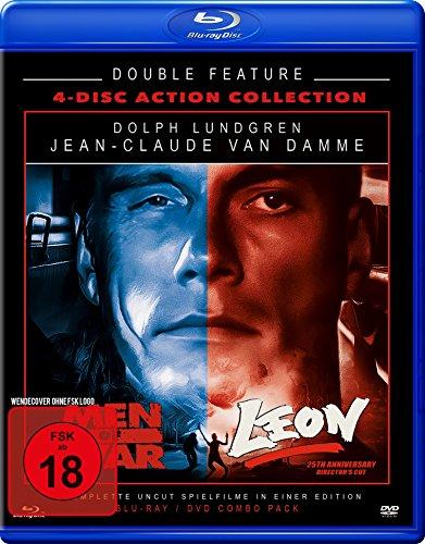 günstig Leon + Men of War – Double Feature – Limited Edition (2 Blu-Rays + 2 DVDs) [Blu-ray] Vergleich im Deutschland