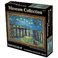 MIOAHDジグソーパズル2000pieces世界の有名な絵画大人のパズル2000キッズDIYジグソーパズルの創造性教育玩具を想像してみてください