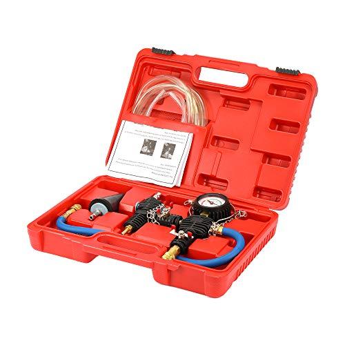 Anticongelante refrigerante coche Reemplazar,Roeam Kit de herramientas de reemplazo radiador Bomba de vacío Inyector de anticongelante Auto