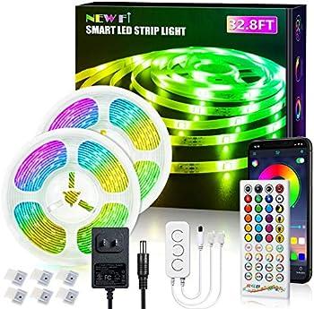 New Fi 32.8ft RGB LED Strip Lights