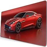 Alfombrilla para ratón, diseño Personalizado Alfombrilla de Goma Antideslizante Alfombrilla para el hogar Moda -Aston Martin Vanquish Zagato Beautiful Car LMP-0303
