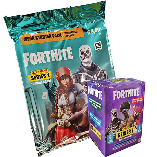Fortnite Panini Trading Cards - 1 Blaster Box + 1 Starter