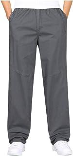 SOMESUN Uomo Casuale Moda Sciolto Taglia Grossa All'aperto Gli Sport Tuta da Lavoro Pantaloni Lunghi,Uomo Outdoor Sportivo...