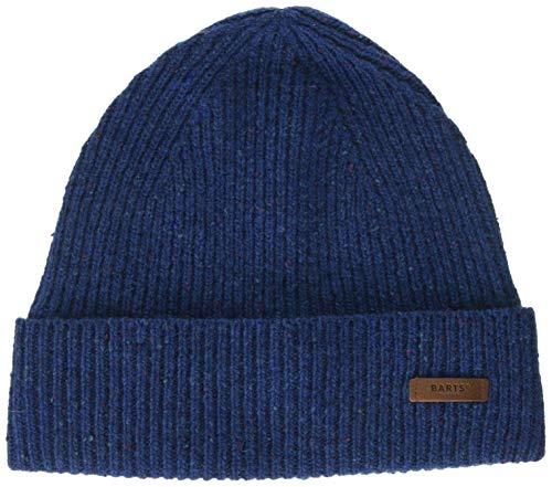 Barts Herren Cameron Beanie Baskenmütze, Blau (Cobalt 0004), One Size (Herstellergröße: Uni)
