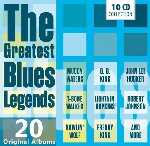 ESSENTIAL BLUES ALBUM COLLECTION (20 Albums)
