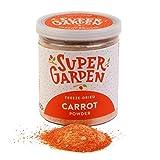 Supergarden polvo de verduras liofilizado (Zanahoria en Polvo)